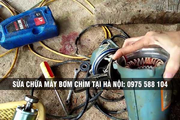 Sửa chữa máy bơm chìm