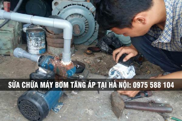 Sửa chữa máy bơm tăng áp